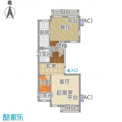 仁恒运杰河滨花园78.00㎡面积7800m户型