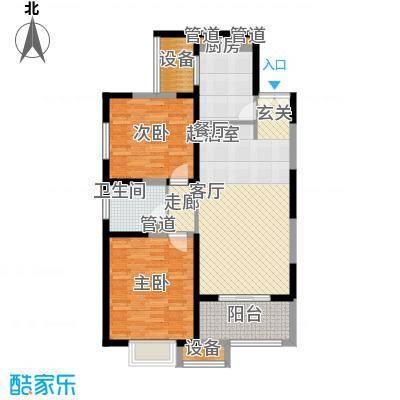 地杰国际城95.00㎡上海面积9500m户型