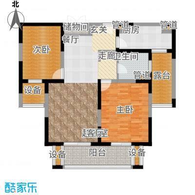 地杰国际城99.00㎡上海面积9900m户型