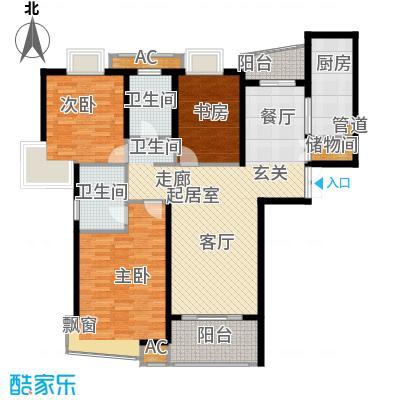 淡水湾花园上海1号楼A型户型