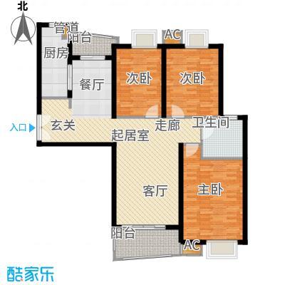 淡水湾花园上海1号楼D型户型