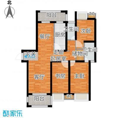 双佳翠庭100.00㎡金鹤新城面积10000m户型