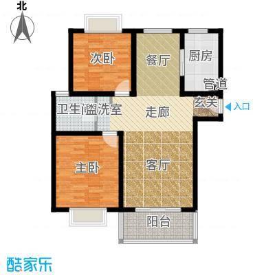 明中龙祥家园上海B型户型