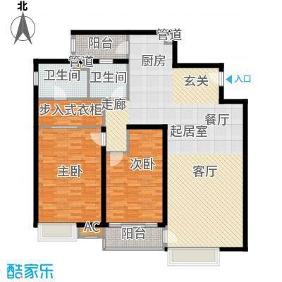 远中风华园134.96㎡5号楼面积13496m户型
