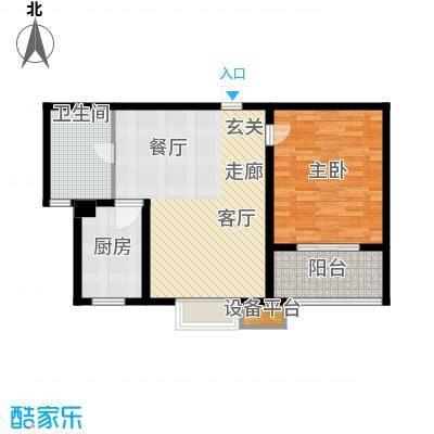 嘉宝都市港湾城72.00㎡上海面积7200m户型