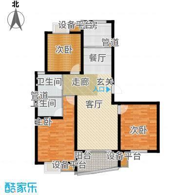 嘉宝都市港湾城126.00㎡上海面积12600m户型