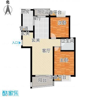 嘉宝都市港湾城109.00㎡上海面积10900m户型