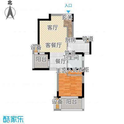 大华锦绣华城第14街区67.00㎡户面积6700m户型