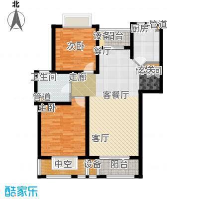 绿地南桥新苑98.49㎡上海(南桥老街)户面积9849m户型
