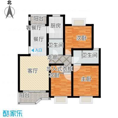 绿地南桥新苑110.00㎡上海(南桥老街)面积11000m户型