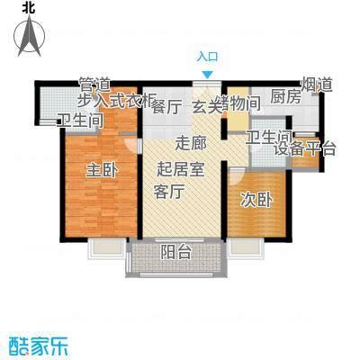 金桥瑞仕花园107.00㎡上海面积10700m户型