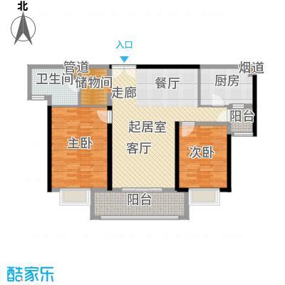 金桥瑞仕花园110.00㎡上海面积11000m户型
