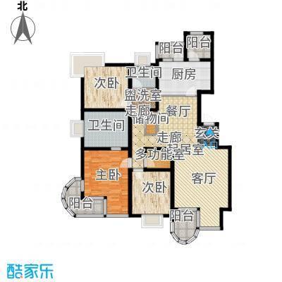 大上海国际花园156.00㎡上海面积15600m户型