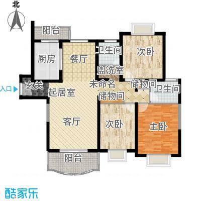 大上海国际花园20.00㎡面积2000m户型