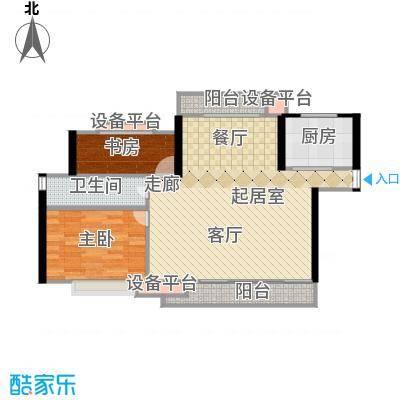 淞南五村73.00㎡面积7300m户型