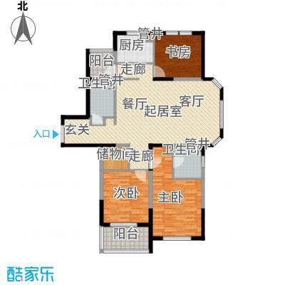 当代清水园137.00㎡上海二期面积13700m户型