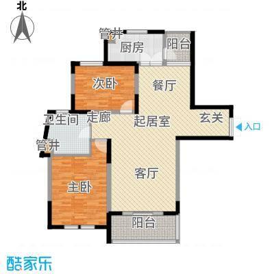 当代清水园115.80㎡上海二期面积11580m户型