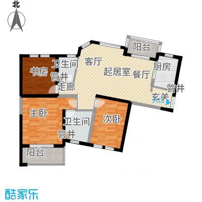 当代清水园98.50㎡上海二期面积9850m户型