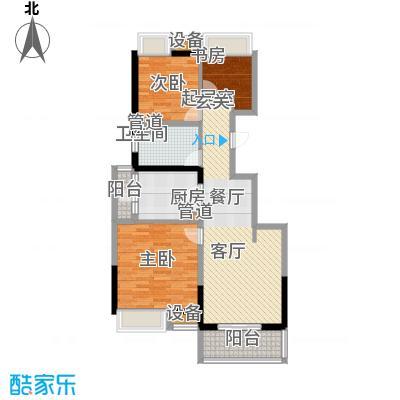 江桥万达广场89.17㎡13#02面积8917m户型