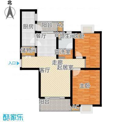 好世鹿鸣苑102.78㎡上海面积10278m户型