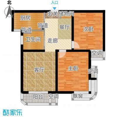 东方听潮豪园84.11㎡32、33、38面积8411m户型
