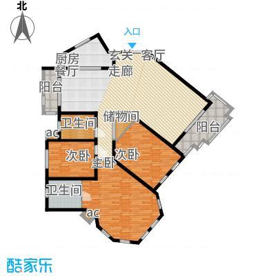 城市经典四期高迪167.00㎡D2面积16700m户型