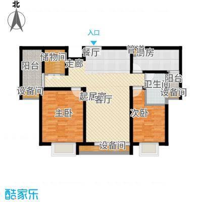 金鹤新城缘圆宝邸95.00㎡面积9500m户型