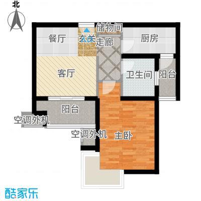 东方听潮豪园56.87㎡29、31、35面积5687m户型