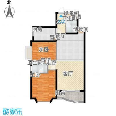 上海康城97.78㎡1面积9778m户型
