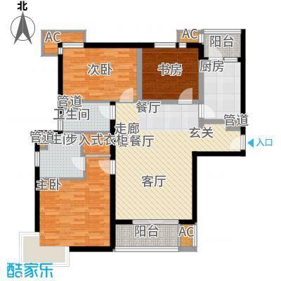 达安春之声花园111.22㎡面积11122m户型