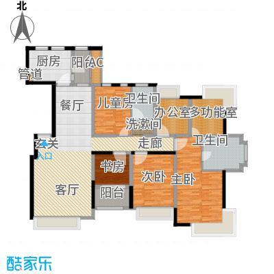 中海瀛台180.00㎡房型图面积18000m户型