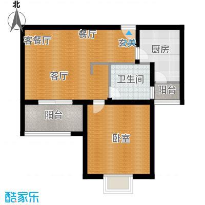 杉林新月家园62.70㎡上海面积6270m户型