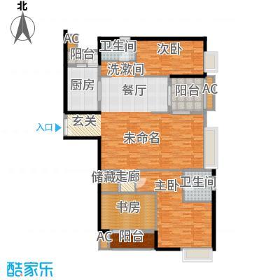 中海瀛台150.00㎡2面积15000m户型
