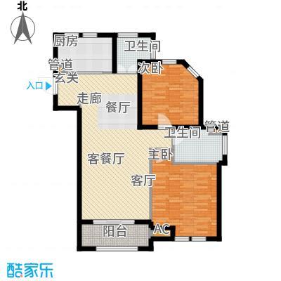 龙柏四季花园98.00㎡上海面积9800m户型