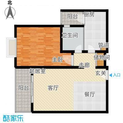 上海梦想92.00㎡1面积9200m户型
