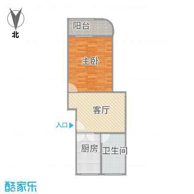 平吉二村的户型图