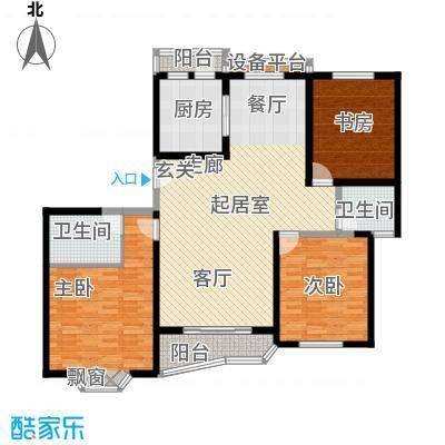 上海未来黄山新城132.16㎡上海未面积13216m户型