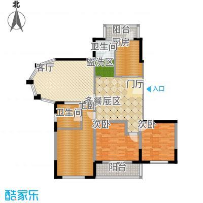 金苹果花园133.00㎡上海面积13300m户型