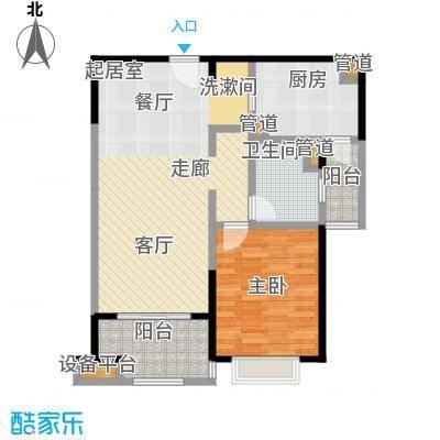 远雄徐汇园77.22㎡A03户型