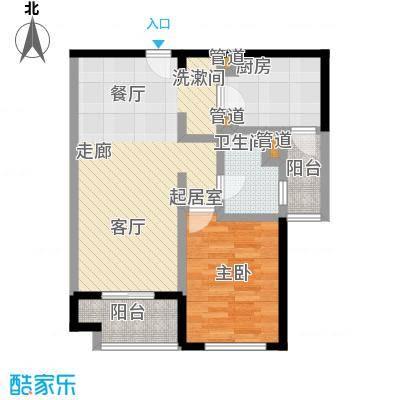 远雄徐汇园69.53㎡E02户型
