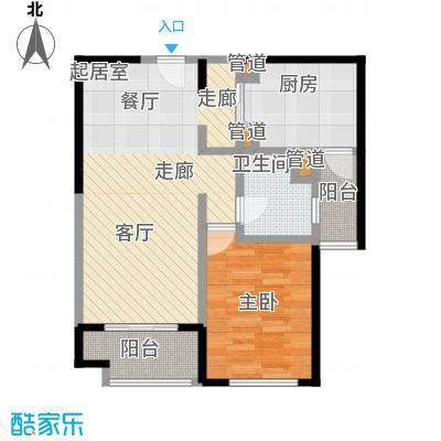 远雄徐汇园69.49㎡F02户型