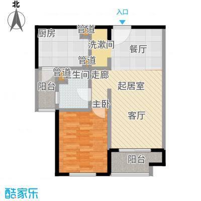 远雄徐汇园69.53㎡F03户型