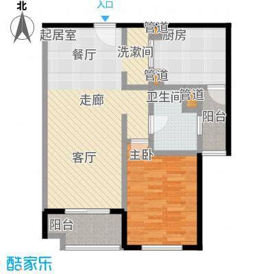 远雄徐汇园69.53㎡C户型