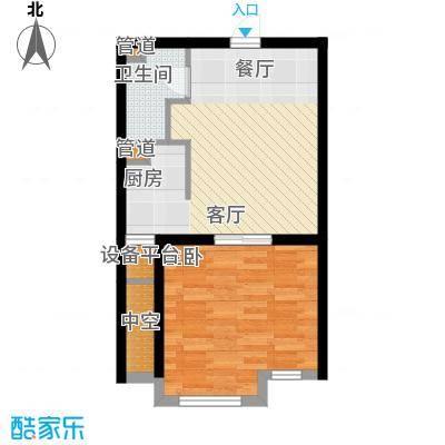 花样年香年广场46.58㎡一批次标面积4658m户型