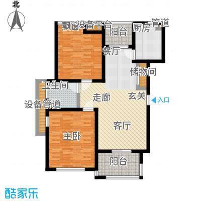 瀛通金鳌山公寓93.00㎡小高层A户型