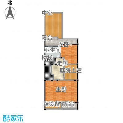 明泉璞院193.65㎡C型北入口二层户型