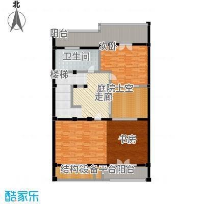 明泉璞院193.65㎡C型南入口二层户型