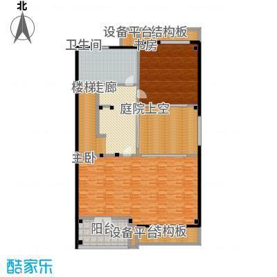 明泉璞院226.90㎡A型南入口三层户型