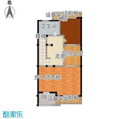 明泉璞院193.65㎡C型南入口三层户型