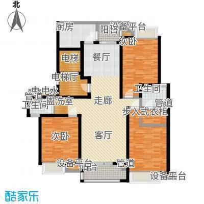 瀛通金鳌山公寓146.00㎡户型